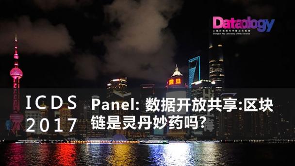 Panel: 数据开放共享:区块链是灵丹妙药吗?
