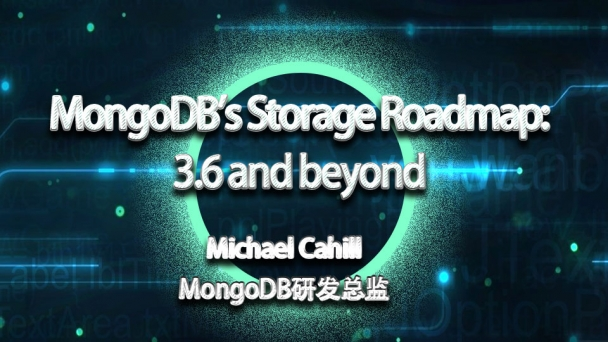 MongoDB's Storage Roadmap: 3.6 and beyond
