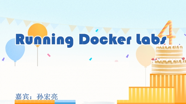 Running Docker Labs