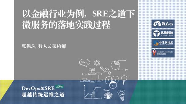 以金融行业为例,SRE之道下微服务的落地实践过程